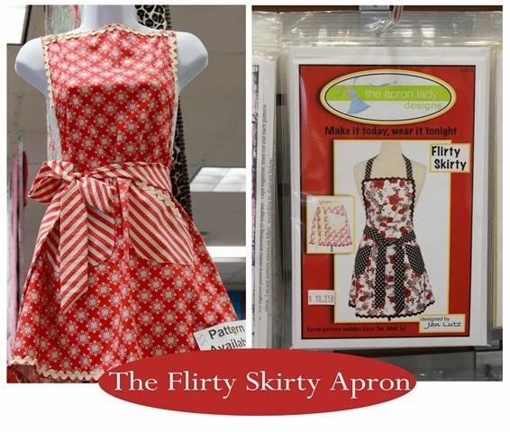 Flirty Skirty apron