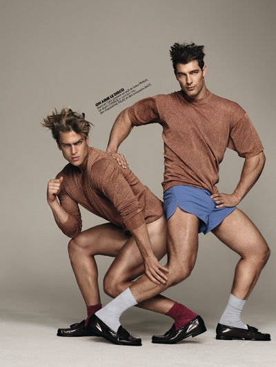 Jason Morgan + Cory Bond by Matthias Vriens-McGrath for Têtu, October 2011.  Styled by Nicolas Klam