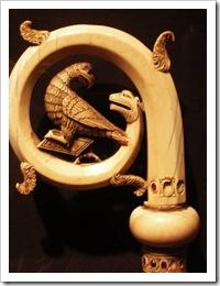 Pomba e Serpente [baculo]