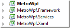MetroWpf-projects