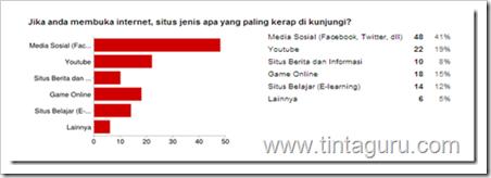 survey pemanfaatan internet