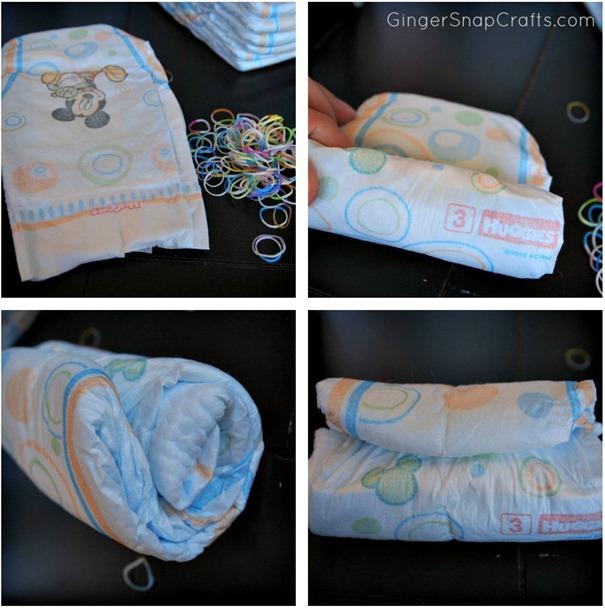 diaper roll