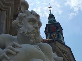 fuente de los tres ríos, Ljubljana