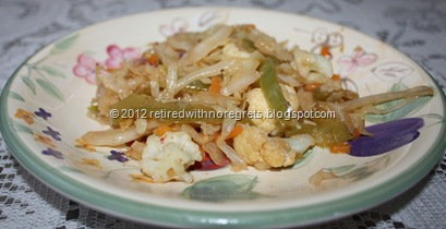 Ginger Szechuan Sauced Stir Fried Cabbage