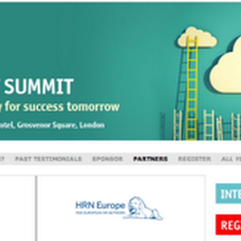 The Talent Management Summit 2013 - Opportunity to Win!