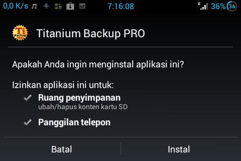 Titanum Backup Pro Key Root Android Terbaru