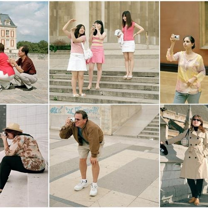 Photographs of Tourists by Peter Otto