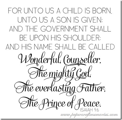 Isaiah 9:6 WORDart by Karen for WAW personal use