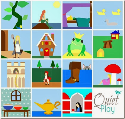 Fairytale Patterns by Kristy @ Quiet Play
