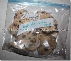 Simple Gluten-Free Chocolate Chip Cookies   - frozen