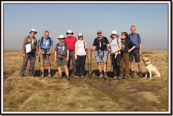 Off route, on the summit of Bull Hill - a HuMP