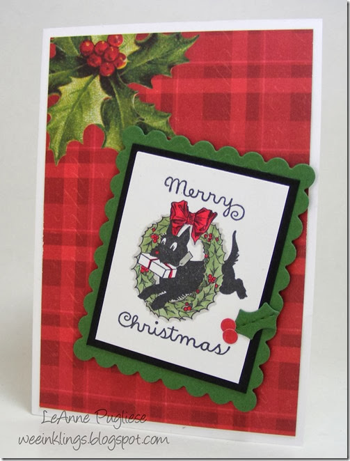LeAnne Pugliese WeeInklings Merry Monday 95 Christmas Cards Stampin