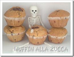 Muffin alla zucca halloween