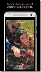 يمكنك إرسال ملفات السيلفيز صور أو فيديو لأصدقائك عن طريق تطبيق Slinshot