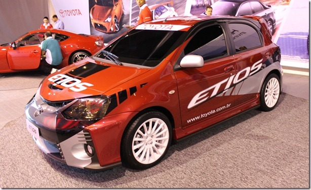 Etios rally - Connection