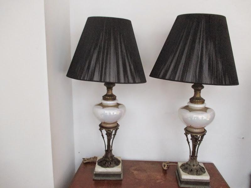 Neoclassical Lamp Pair