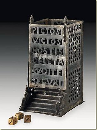 Roman Dice Tower