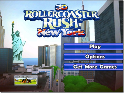 New York 3D Rollercoaster Rush HD