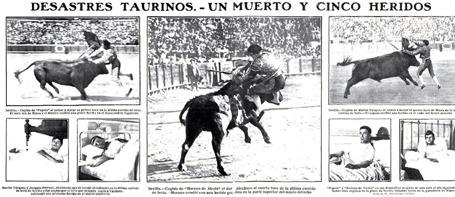 1909 Un muerto y 5 heridos