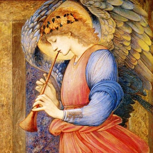 36726509_Kopiya_Edward_BurneJones___An_Angel_Playing_a_Flageolet