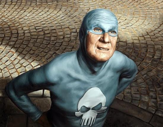 Velho super herói Fantasma 10