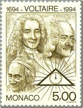 Voltaire ateismo cristianismo muerte