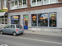 Bicycle shop in Namur Photo