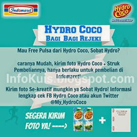 Kuis TweetPic Hydro Coco Berhadiah Pulsa Setiap Hari