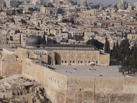 Obiective turistice Ierusalim: Moscheea Al-Aqsa