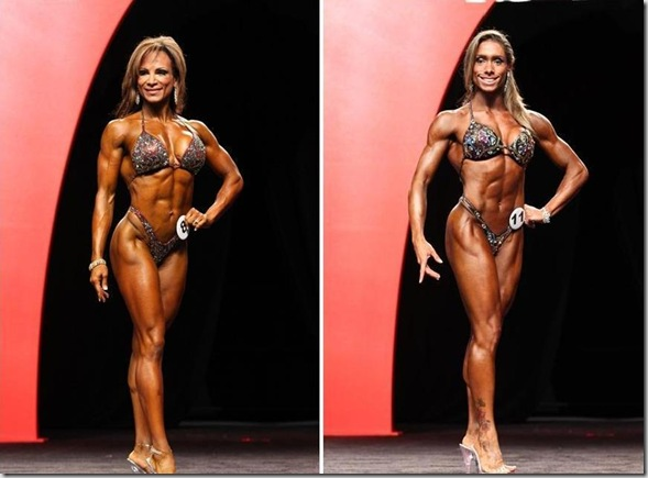 Adela Garcia e Diana Monteiro fitness