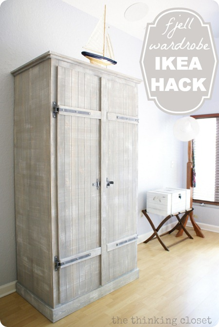 ikea wardrobe hack