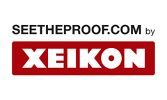 see the proof xeikon logo
