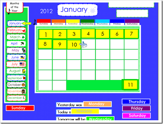 Smartboard Kindergarten Calendar : Elementary shenanigans a not so typical morning meeting