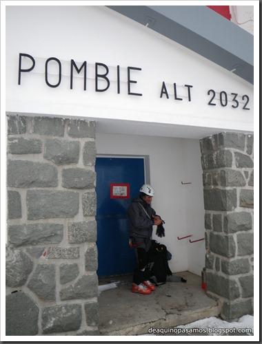 Corredor de La Fourche 350m AD  50º y Petit Pic 150m IV 60º (Midi d'Ossau, Portalet) 8966