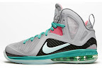 nike lebron 9 ps elite grey candy pink 9 01 official LeBron 9 P.S. Elite Miami Vice Official Images & Release Date
