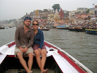 Sunrise boat ride, Varanasi