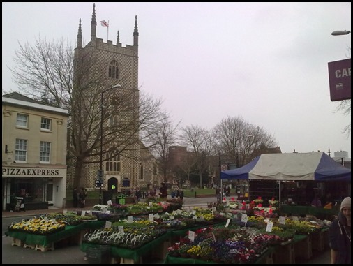 Reading Church and Market
