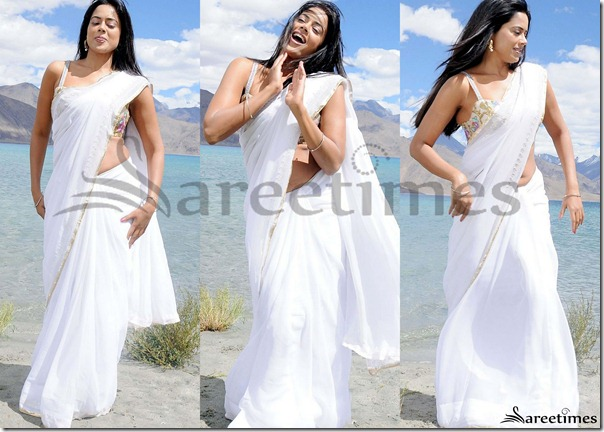 Sameera_Reddy_White_Saree