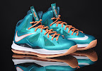 nike lebron 10 gr miami dolphins 2 02 Gallery: Nike LeBron X Miami Setting or Dolphins if you Like