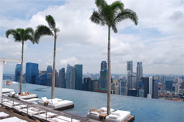 Marina Bay Sands piscina infinita
