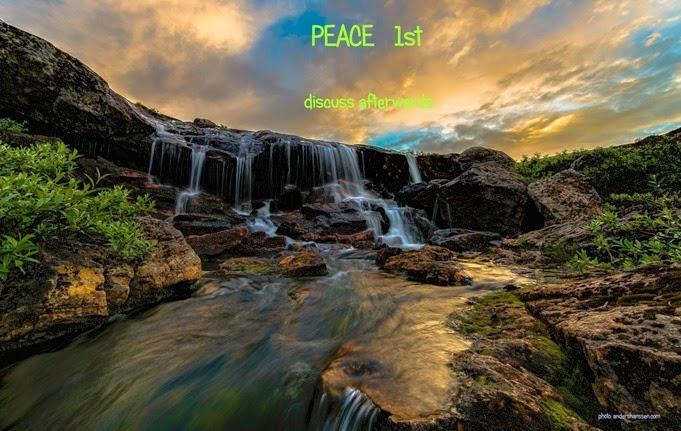 peace 1st
