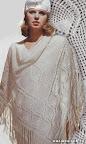 Белая шаль.