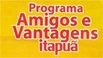 programa amigos e vantagens itapua
