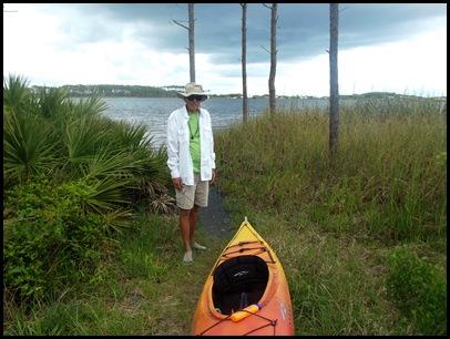 Dune hike & rain paddle 118