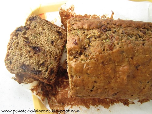 Zucchini Chocolate Bread 3