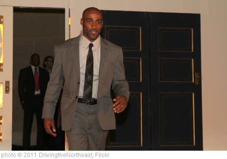 'Washington Redskins' Ryan Torain struts down the runway.' photo (c) 2011, DrivingtheNortheast - license: http://creativecommons.org/licenses/by/2.0/