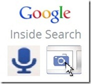 Google voice and Image search