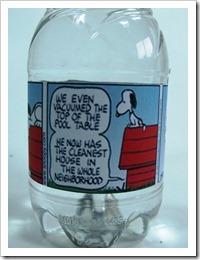 rotulo garrafinha de agua