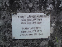 Austen Family Plaque