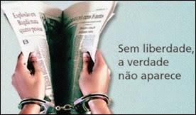 sem liberdade a verdade não aparece